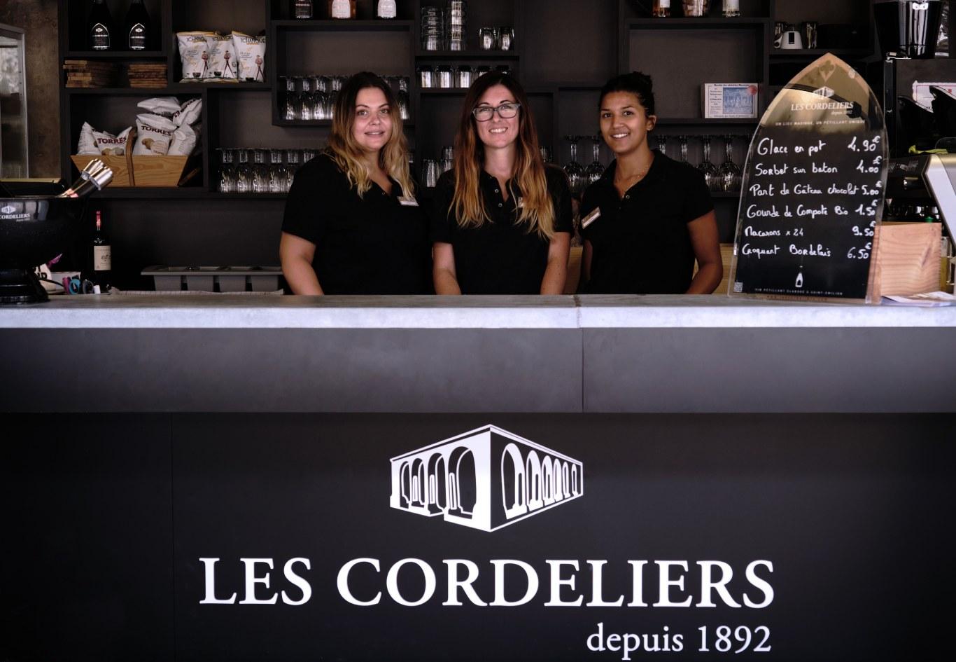 L'équipe Bar et restauration les Cordeliers